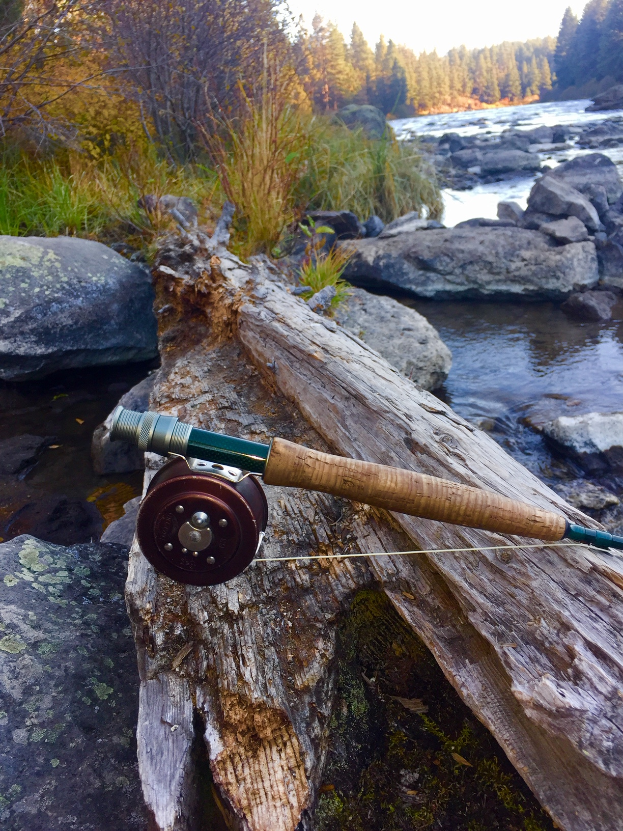 Fly fishing in Central Oregon