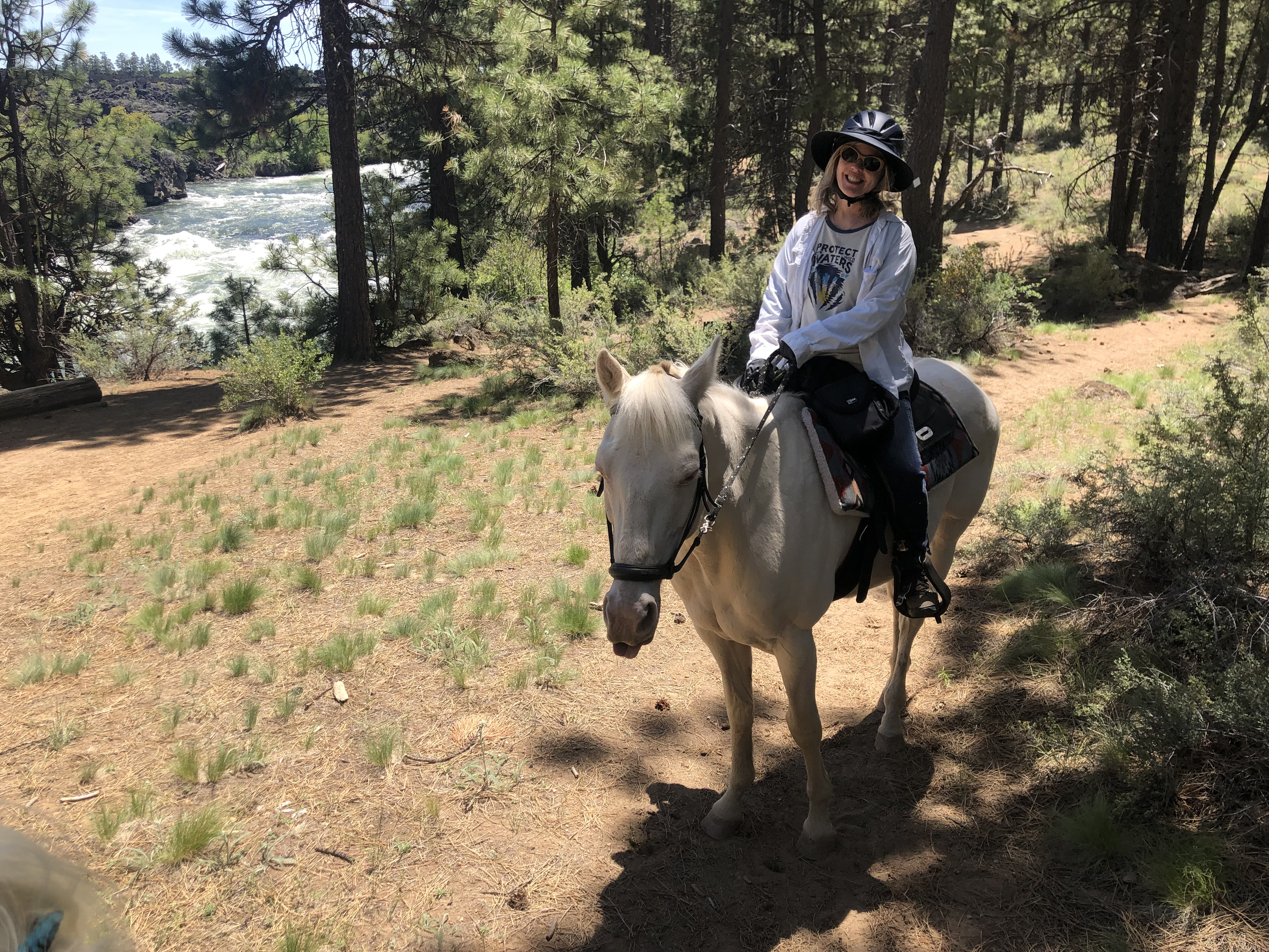 Horseback riding Bend Oregon