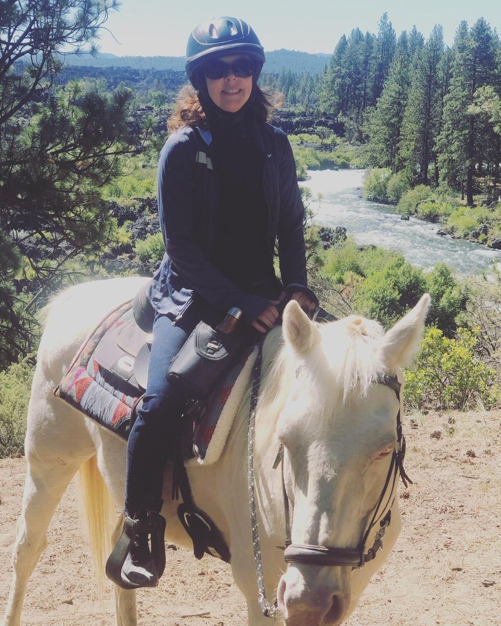 Horseback riding in Bend